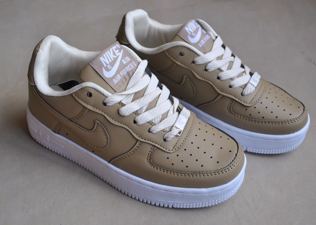 buy popular 450cc 3a0c4 kp3 zapatos nike air force one beige para damas. Cargando zoom.