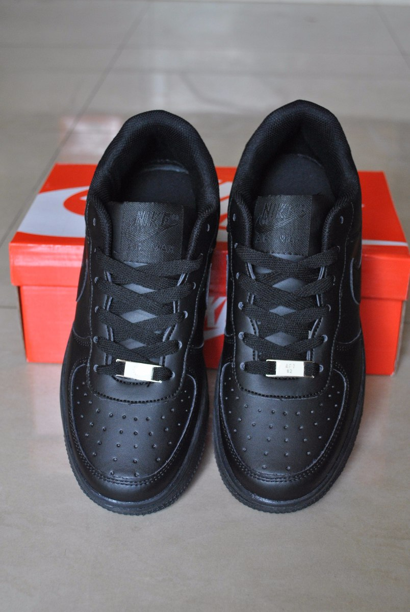 d4cb97294c5c2 kp3 zapatos nike air force one negro all black 35 al 40. Cargando zoom.