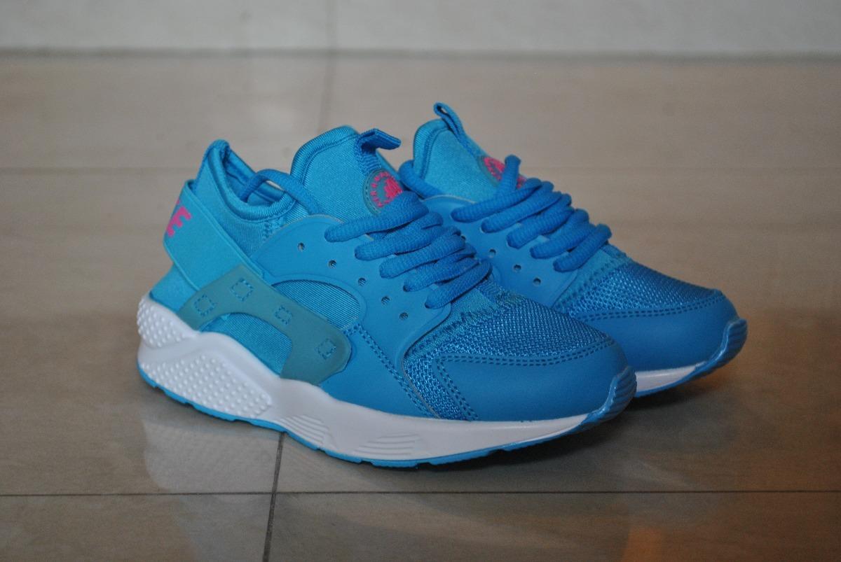 best authentic 614b1 0cd9c ... low cost kp3 zapatos nike air huarache azul blanco para niños. cargando  zoom. e1cea