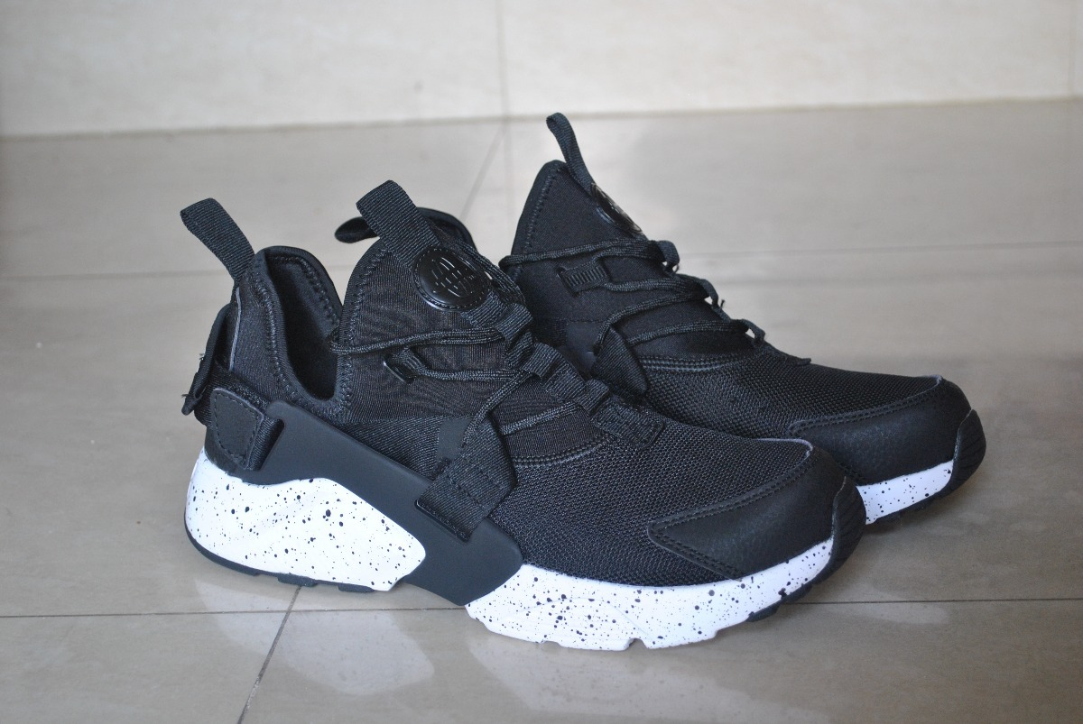 the best attitude a781a a1dd0 Kp3 Zapatos Nike Air Huarache Ultra Negro Solo Talla 40 - Bs