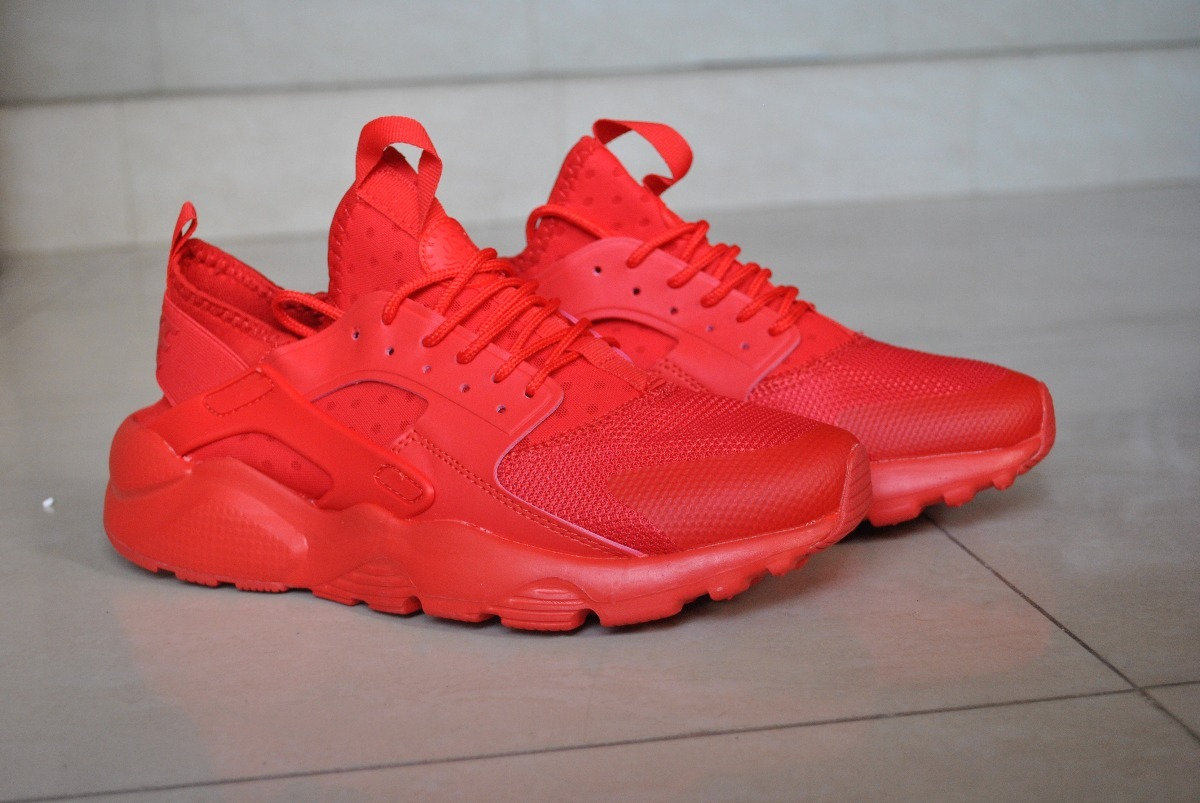 best service 6f99a 13c32 kp3 zapatos nike air huarache ultra rojo caballeros solo 45