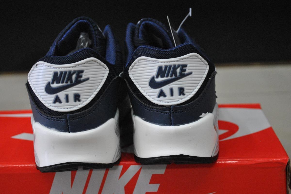 kp3 zapatos nike air max 90 azul marino para caballeros