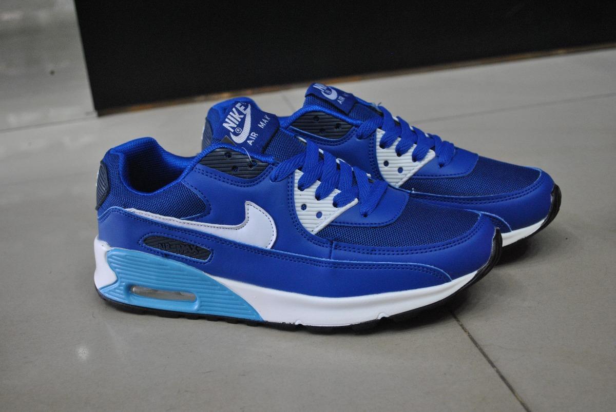 e68adb7517a6f ... promo code for kp3 zapatos nike air max 90 azul rey para caballeros.  cargando zoom