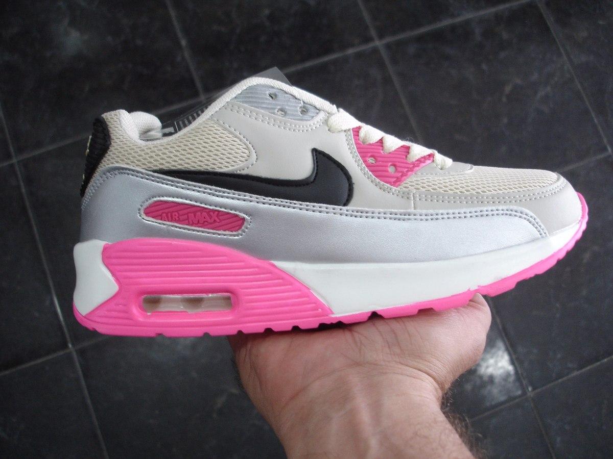 ZAPATOS ES MODA | Zapatos Nike Air Max 90 Beige Fuchsia