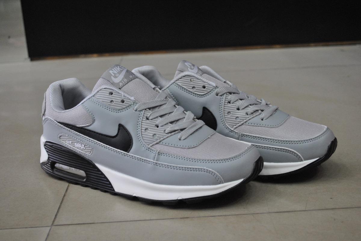 san francisco ff6e0 f6851 kp3 zapatos nike air max 90 gris para caballeros. Cargando zoom.