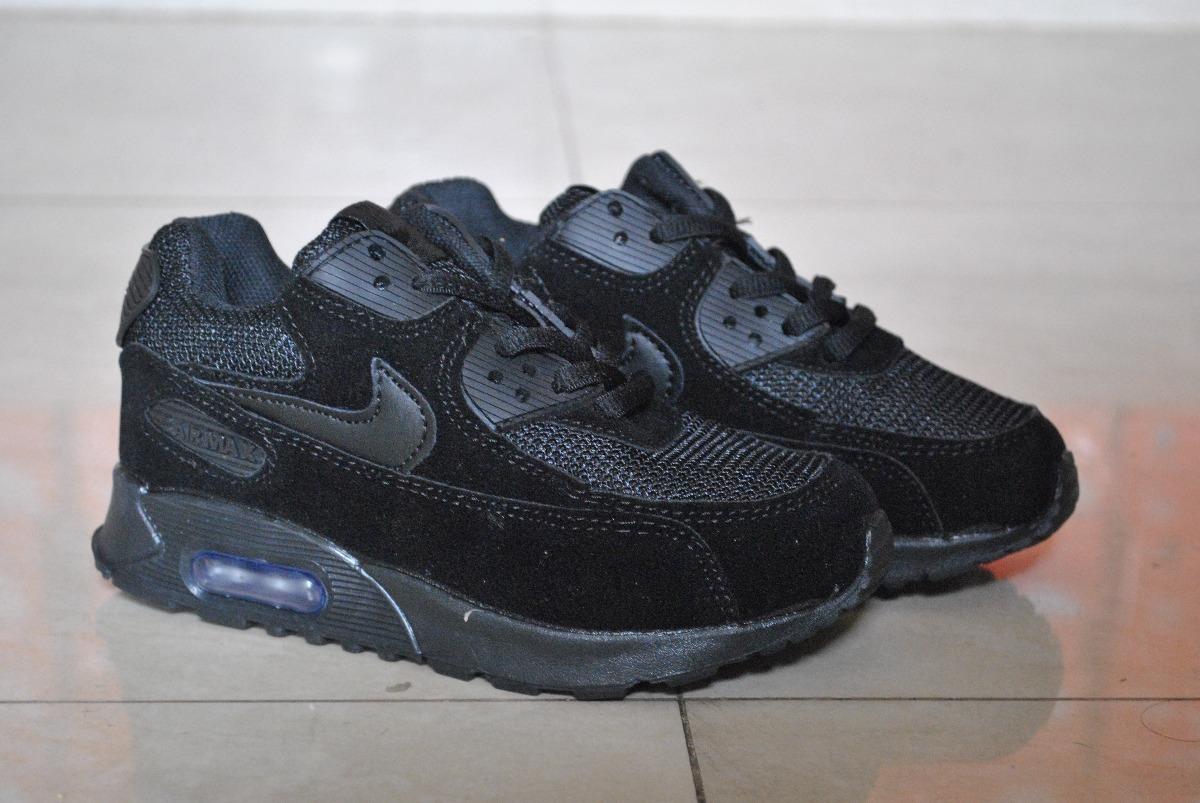 Max Para Kp3 Completo Zapatos Nike Negro 90 Air Niños txQdCsrhB