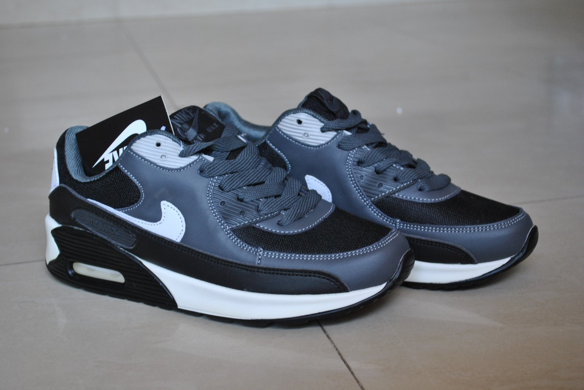 9446f3cbf5b6f Kp3 Zapatos Nike Air Max 90 Negro   Gris Solo Talla 40 - Bs. 5.900 ...