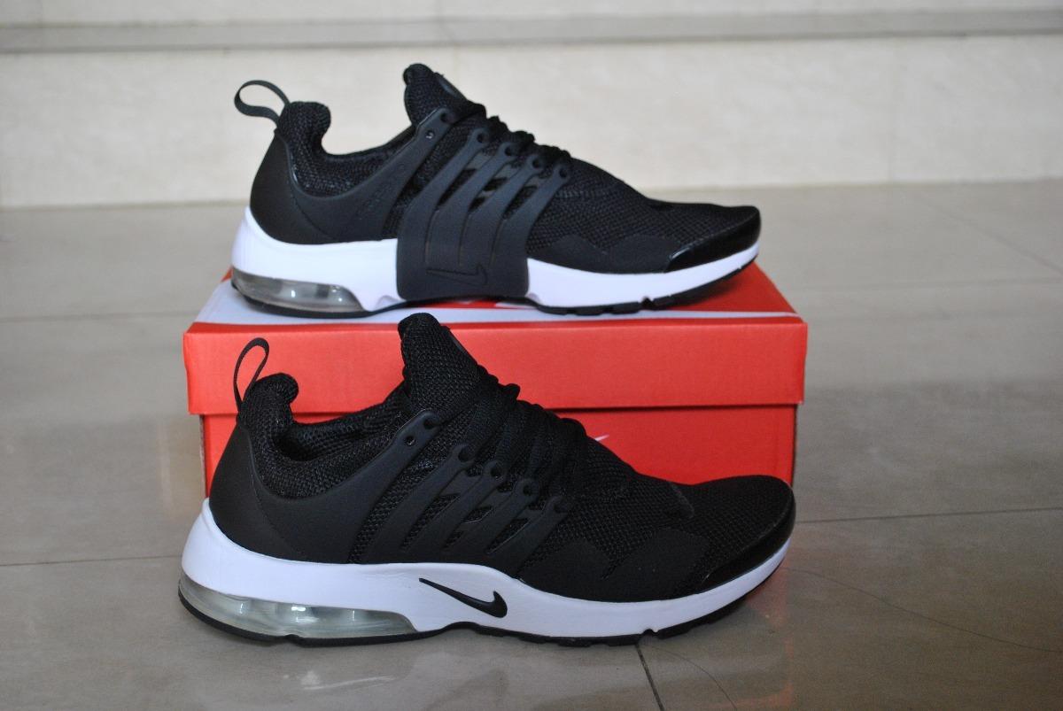 e49b43ad59f6e kp3 zapatos nike air presto clasico negro  blanco caballeros. Cargando zoom.