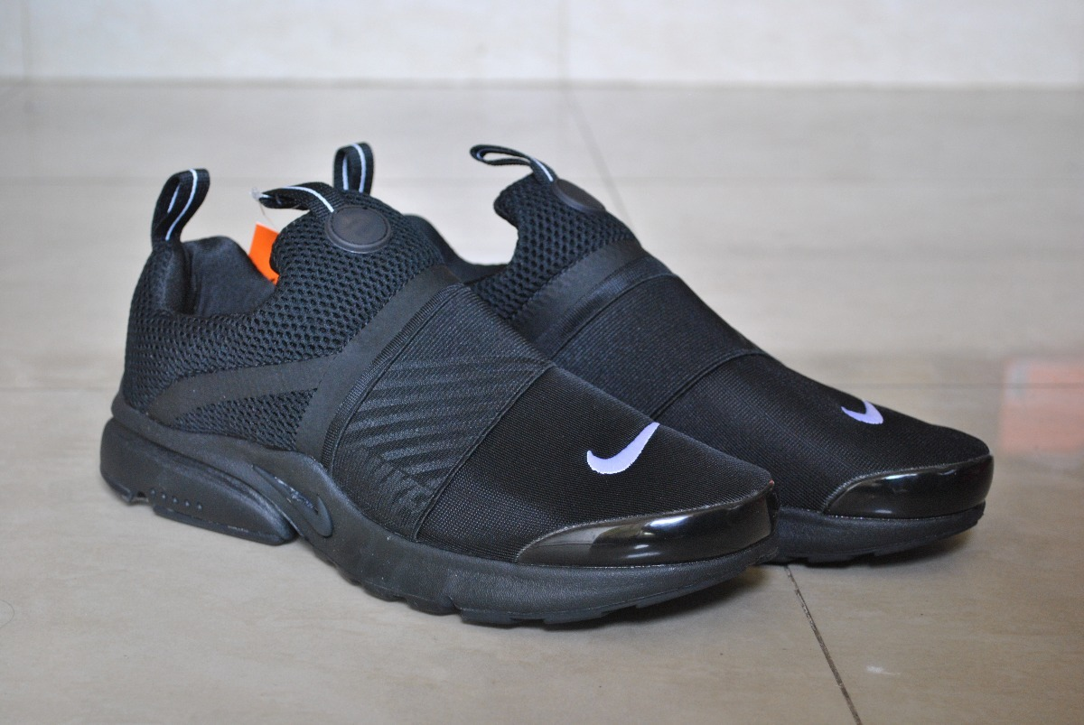 Kp3 Zapatos Nike Air Presto Extreme Todo Negro Caballeros Bs