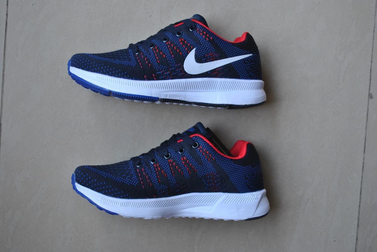 8c925925c1fb6 kp3 zapatos nike air thea zoom azul   rojo unisex 36 al 40. Cargando zoom.