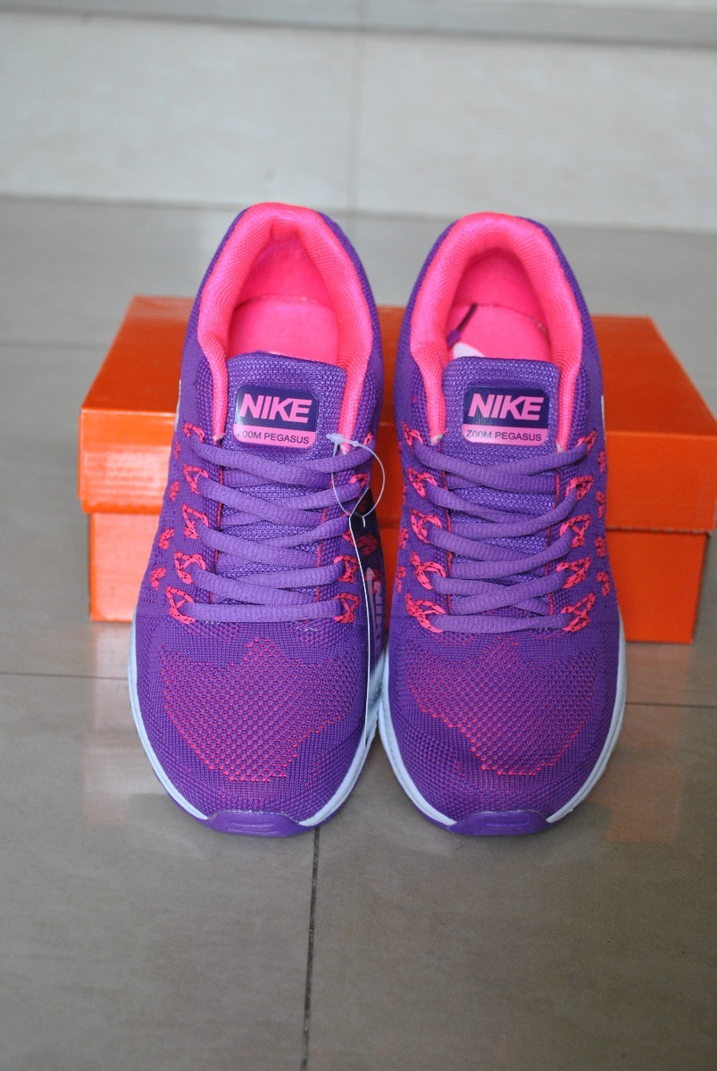 ef08b5d857348 kp3 zapatos nike air zoom pegasus violeta fucsia damas 36. Cargando zoom.
