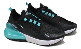 Kp3 Zapatos Niños Niñas Nike Air Max 270 Negro Agua