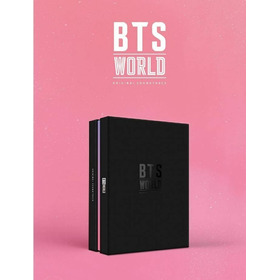 Kpop Album Cd Bts World Ost + Poster + Brinde Pronta Entrega