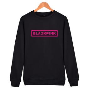la mejor actitud 0179c b954b Kpop Corea Moda Sudadera Hombres Sudadera Blackpink Letra Im