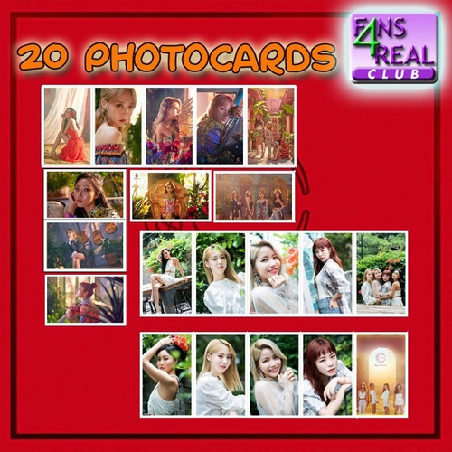 kpop kit mamamoo - 20 photocards + 1 poster
