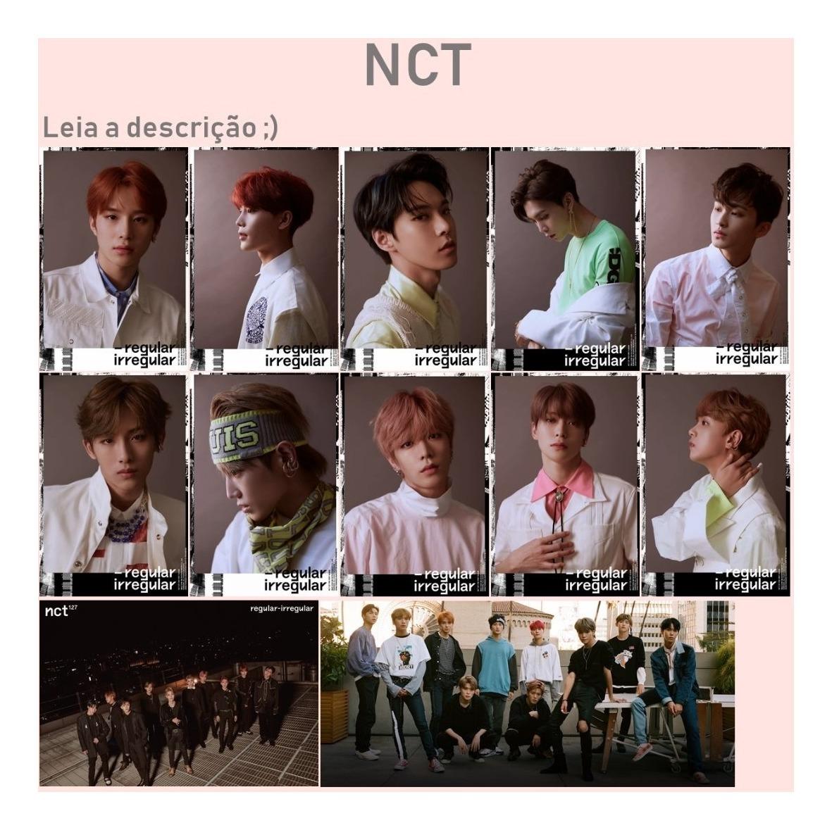 Kpop Nct Regular Irregular - Cards - Photocards - Photocard