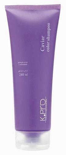 k.pro caviar color shampoo 240ml