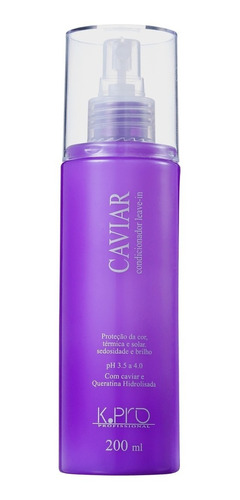k.pro caviar condicionador leave-in-spray 200ml belezanaweb
