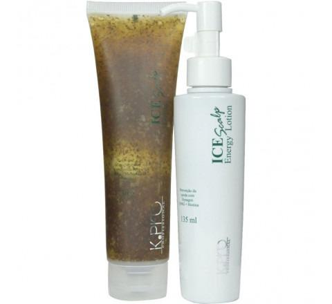 k.pro ice scalp duo kit (2 produtos)