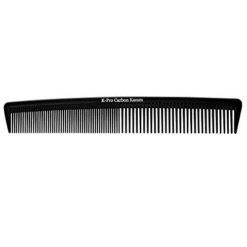 kpro peine pelo carbono antiestático peinado peine corte hom