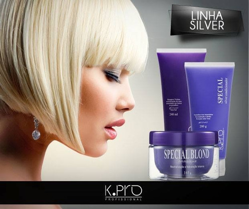 kpro special blonde máscara 500 gramas **frete grátis**