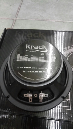 krack set de medios pro 150 whatts rms open show ktm-620