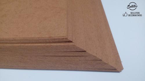 kraft  cartulina tamaño tabloide 28x43cm. 200pzas.