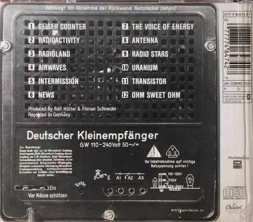 kraftwerk - radio activity - cd importado england lacrado