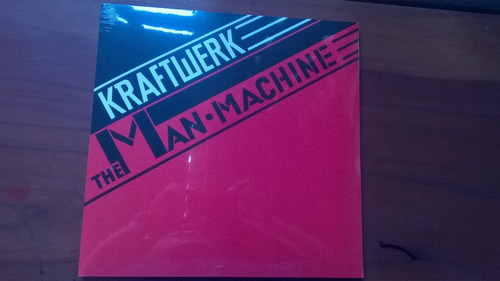 kraftwerk the man-machine (lp-vinyl) e.u