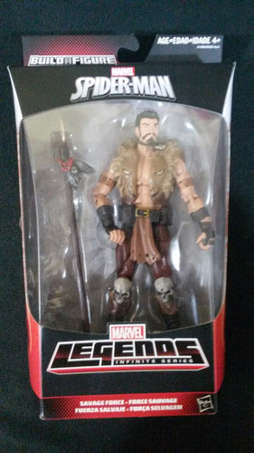 kraven marvel legends infinite series sin baf