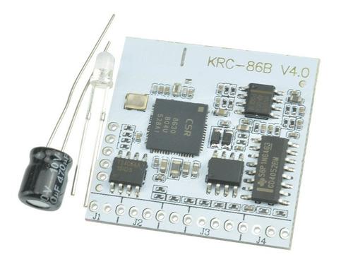 krc-86b bluetooth 4.0 audio estéreo receptor del módulo del