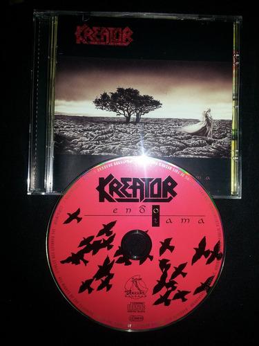 kreator - endorama edición alemana,  drakkar records 1999