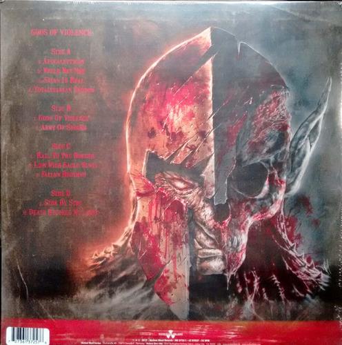 kreator - gods of violence - vinilo doble nuevo
