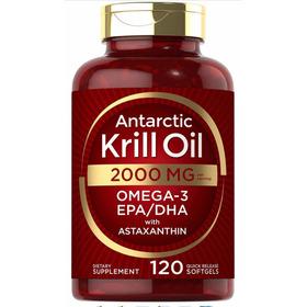 Krill Oil 2000mg Omega3 Epa Dha 120 Softgels