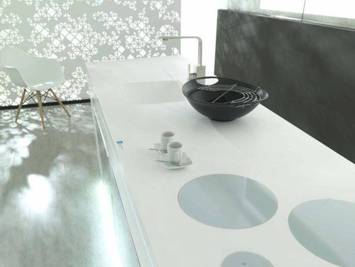 krion, mesetas, cubiertas, cocinas, baños spas dmm