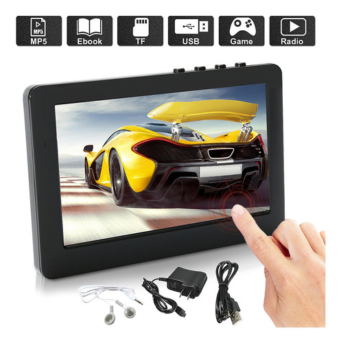 kroak 8 gb 4.3 polegada tela carro mp3 mp4 mp5 player vídeo