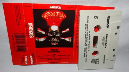 krokus - headhunter (carcasa:ex - inserto:ex)