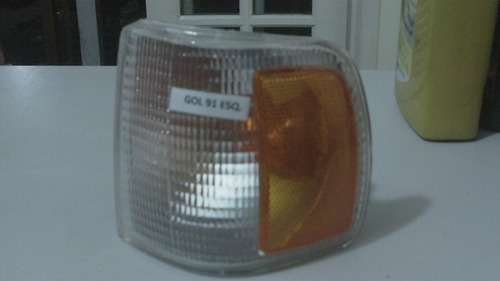krros - pisca seta cristal c/ laranja lado esquerdo gol 94