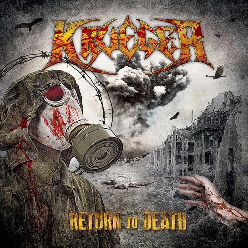 krueger - return to death - cd lacrado - produto original