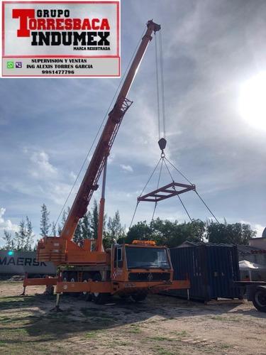 krupp 80 tons venta de refacciones