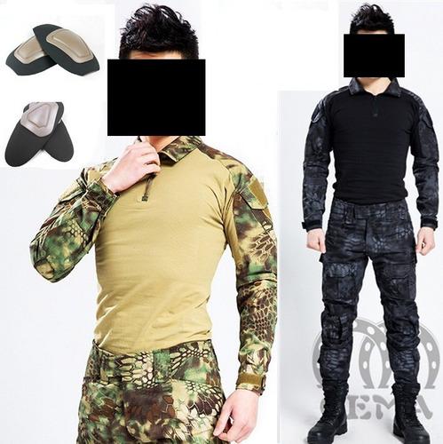 kryptek militar tactico uniforme cacería gotcha airsoft