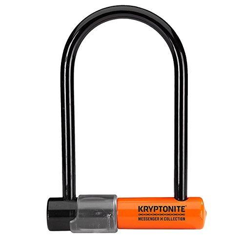 kryptonite mensajero mini u-lock, 3,75 x 6,5 pulgadas