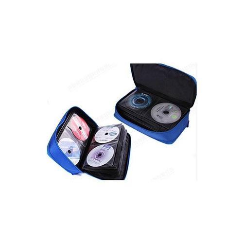 ksmxos 64 disco cd / dvd estuche portátil caja de cd bolsa o