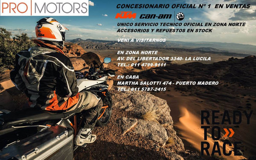 ktm 1290 super adventure r  pro motors madero caba