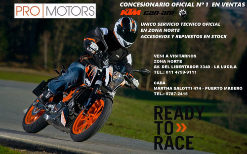 ktm 200 duke - oportunidad financiacion
