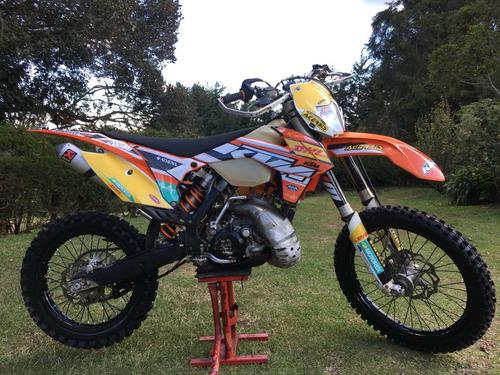 ktm 200 exc 2 tiempos moto enduro