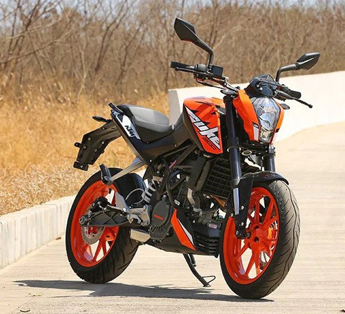 ktm 200 moto naked motos