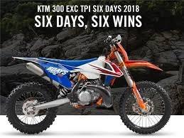ktm 300 exc tpi six days 2018 0km - ktm palermo