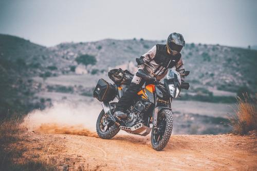 ktm 390 adventure, trial & travel, financiada!