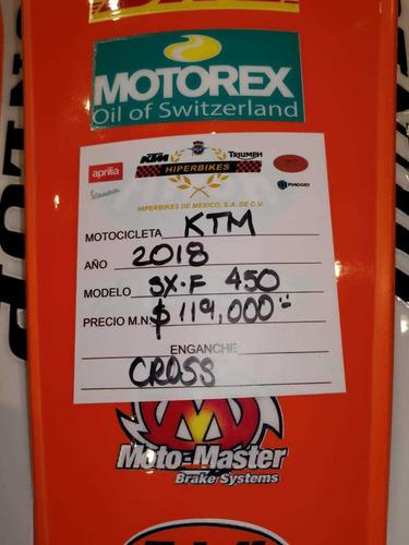 ktm 450 sx-f 2018 muy buena